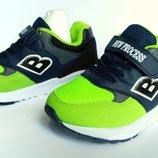 Кроссовки на мальчика сине-зеленые, Тм Jong-Golf , размеры 31, 32, 33, 34, 35, 36