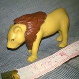 Коллекционная игрушка фигурка лев