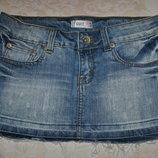 Юбка джинсовая разм 12