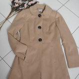 Бежевое пальто GEORGE -S-M