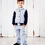 Теплый костюм 110-128 р. на мальчика, 3х нитка на флисе, хлопчик, кофта, штаны, теплий