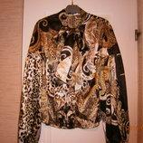 Шикарная блузка женская 50-52 размера. Замеры.