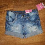 Крутые джинсовые шортики для модницы