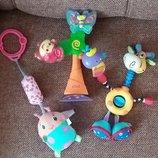 Фирменные развивающие игрушки fisher price, nuby.