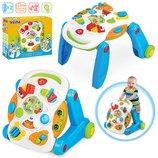 Развивающая игрушка Каталка-Столик «Симфония» 2 в 1 2137