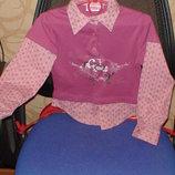 Рубашка- реглан « Wenice» 116 см Турция