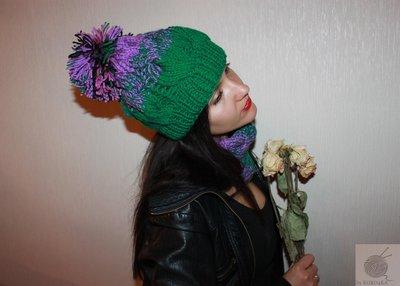By Koko4ka ручная работа вязание на заказ шапка сруд варежки шарф