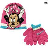 Набор Minnie Mouse шапка и перчатки