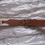 Ремень комбинированный кожа текстиль Lacoste