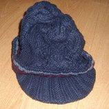 Новая теплая шапка Debenhams 3-6 лет, катон, оригинал