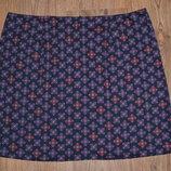 Р. uk-14/16 Симпатичная женская катоновая, стрейчевая юбка