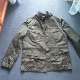 стильная мужская куртка, ветровка, плащ Zara, М