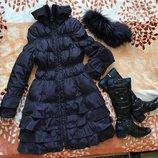 Пальто куртка MaxMara, размер S, б/у