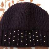 шапка зимняя Камеа, на объём головы 56 см