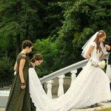 Свадебное платье английский гипюр
