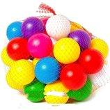 Мячики для палаток и сухого бассейна 6 мм 40 шт