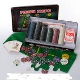 Настольная игра покер M 2776, 300фиш с номиналом