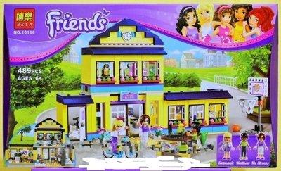 Конструктор Bela аналог LEGO Friends Школа Хартлейк Сити 10166