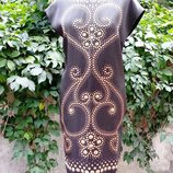 Платье Moschino Cheap & Chic, оригинал, цвет- темно / коричневый, состояние нового.