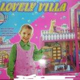 Дом для куклы кукол Барби 2 этажа 3 комнаты. 6984