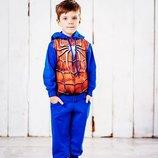 Спортивный костюм Герои 110, 116, 122, 128 р. на мальчика в ассортименте, комплект, хлопчик, штаны