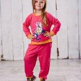 Спортивный костюм с паетками 110,116,122,128 р. на девочку в ассортименте, комплект, дівчинку