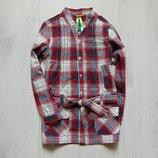 Стильная рубашка с поясом для девочки. Hema. Размер 5-6 лет. Состояние идеальное