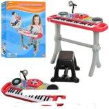 Детский синтезатор WinFun 2068G-NLсо стульчиком