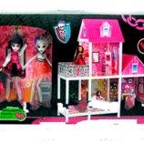 Кукольный домик Монстр Хай Monster High 66912