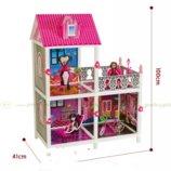 Кукольный домик Монстр Хай Monster High 66901 3 комнаты балкон, 100 см.