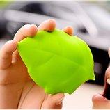 силиконовый дорожный стаканчик в форме листика