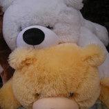 Плюшевая игрушка медведь, мишка 130 см, разные цвета