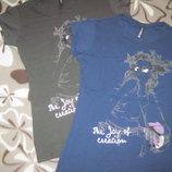 Новые качественные женские футболки, р. xl, 100% котон Турция