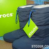 Сапоги Крокс crocs Women´s Lodge Point Pull-On Snow Boot