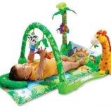Коврик для малышей Троп. лес 3059