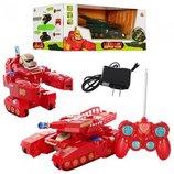 Детский трансформер робот -ТАНК 28160