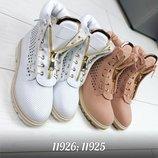 Женские ботинки Balmain перфорация