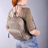 Кожаный женский рюкзак среднего размера Copper