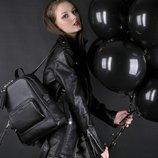 Скидка -10% Кожаный женский рюкзак среднего размера Copper