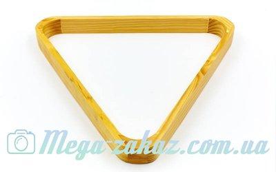Треугольник для бильярда для шаров 7687-57 для шаров 57мм, дерево
