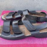 Кожаные сандалии босоножки Free Step 38-39 р.