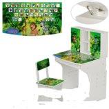 Детская парта с полочками Мv-903-7, джунгли