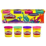 Play-Doh Пластилин в 4-х баночках 4-Ppack of colors