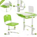 Детская парта M 3111-5 растишка, со стульчиком, зеленая