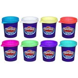 Play Doh Hабор пластилина из 8-ми банок Plus Color Set A1206