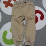 Крутые коричневые штанишки от Rebel на 12-18 мес., 86 см