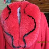 Продам жіноче пальто,комір на пальто