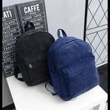 Молодежные вельветовые рюкзаки унисекс В Наличии