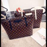Стильные большие сумки в стиле LV В Наличии