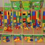 Большие наборы Лего Дипло Lego Duplo в ведре или на пластине.Оригинал